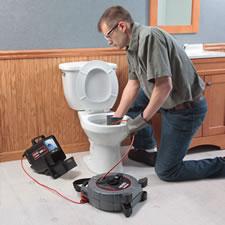 Toilet CCTV Drain Inspection